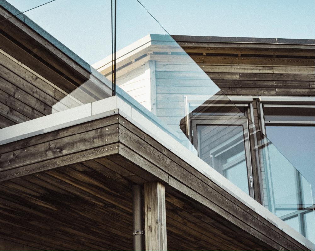 glassrekkverk veranda